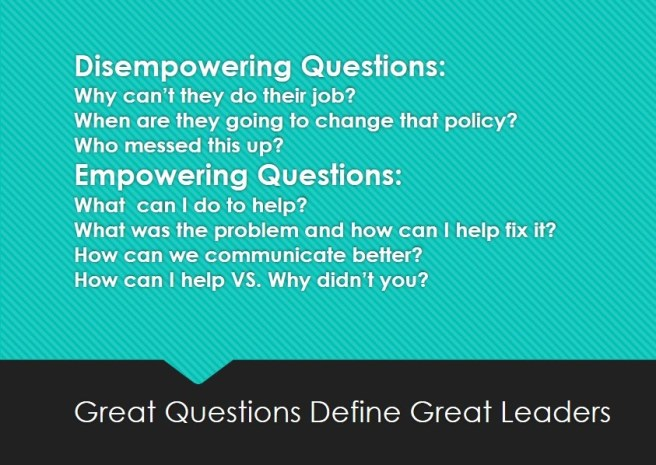 Disempowering Questions